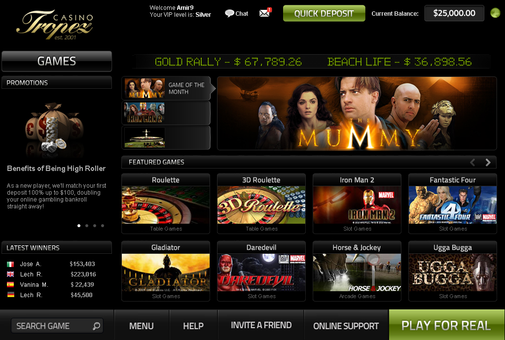 bonus online casino briliant